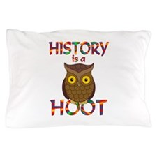 History is a Hoot Pillow Case