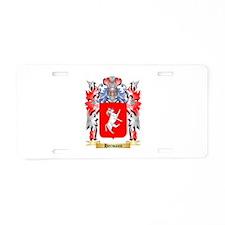 Hermann Aluminum License Plate