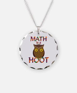 Math is a Hoot Necklace