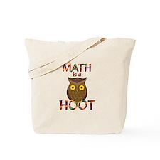 Math is a Hoot Tote Bag