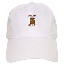 Math is a Hoot Baseball Cap