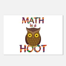 Math is a Hoot Postcards (Package of 8)