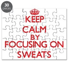 Keep Calm by focusing on Sweats Puzzle