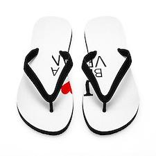I Love Being A Vegan Flip Flops