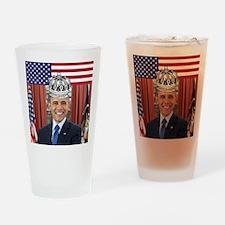 King Obama Drinking Glass