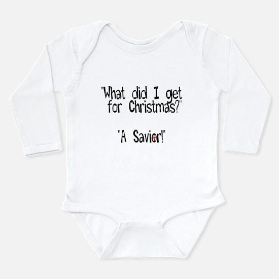 Cute Religion Long Sleeve Infant Bodysuit
