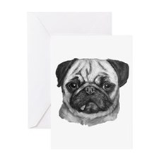 pug Greeting Cards