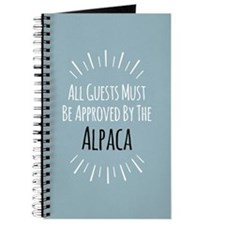 Alpaca Approved Journal