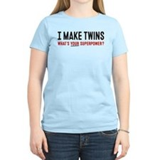 Funny Twin dad T-Shirt