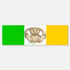 Irish Claddagh Sticker (Bumper)