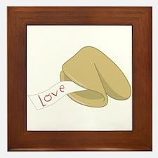 Love Fortune Framed Tile