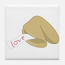 Love Fortune Tile Coaster