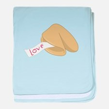 Love Fortune baby blanket