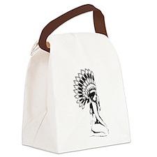 Pow Wow Hottie Canvas Lunch Bag