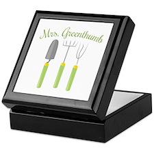 Mrs. Greenthumb Keepsake Box