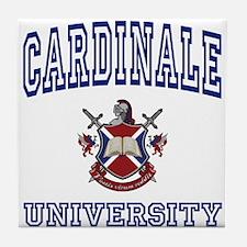 CARDINALE University Tile Coaster