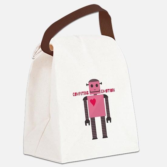 Computing Emotion Canvas Lunch Bag