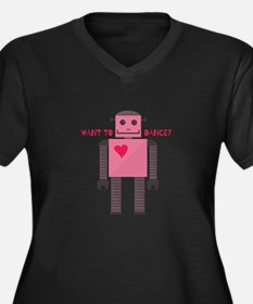Want to Dance Plus Size T-Shirt