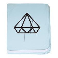 Diamond down baby blanket