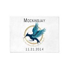 Mockingjay Movie 11.21.14 5'x7'Area Rug