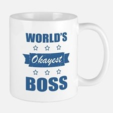 World's Okayest Boss Mugs