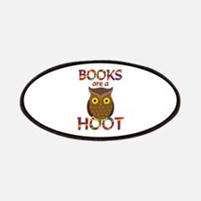Books are a Hoot Patches