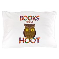 Books are a Hoot Pillow Case