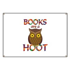 Books are a Hoot Banner