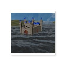 Water Castle Sticker