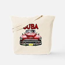 Old Car Cuba Tote Bag