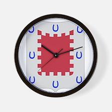 8th Army Engineer Battalion Military Pa Wall Clock