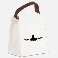 Airplane aviation Canvas Lunch Bag