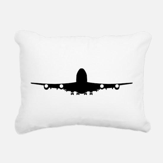 Airplane aviation Rectangular Canvas Pillow
