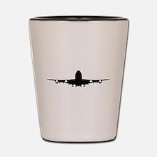 Airplane aviation Shot Glass