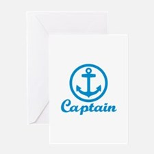 Anchor captain Greeting Card