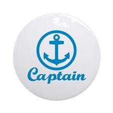 Anchor captain Ornament (Round)