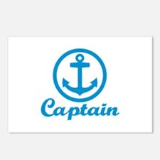 Anchor captain Postcards (Package of 8)