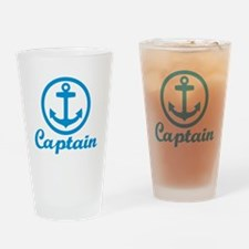 Anchor captain Drinking Glass