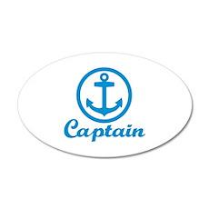 Anchor captain Wall Decal