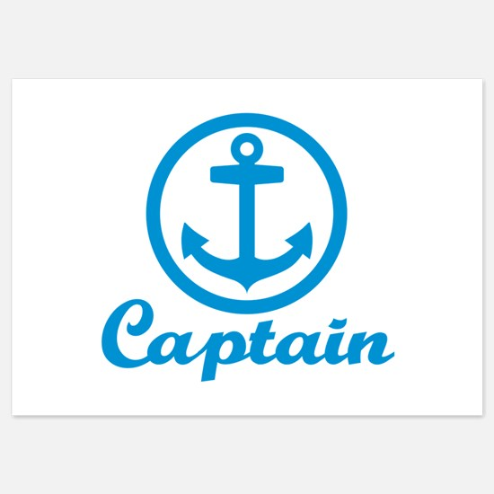 Anchor captain 5x7 Flat Cards