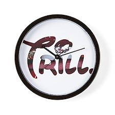 Trill Lips Wall Clock