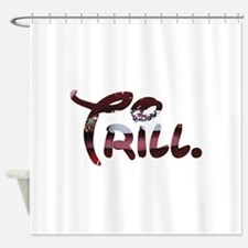 Trill Lips Shower Curtain
