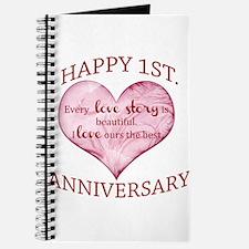 1st. Anniversary Journal