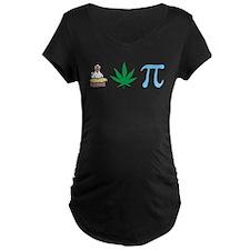 3-chickenpotpiB Maternity T-Shirt