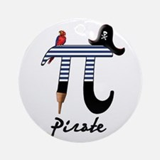 pirate-pi-tile.png Ornament (Round)