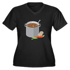 Pot Of Soup Plus Size T-Shirt