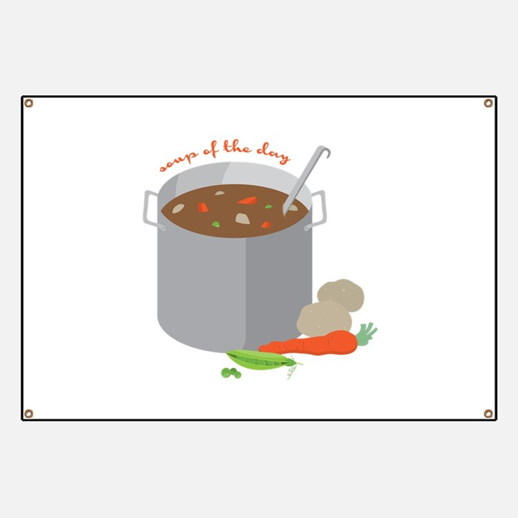 Soup Of Day Banner