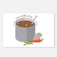 Soup Of Day Postcards (Package of 8)