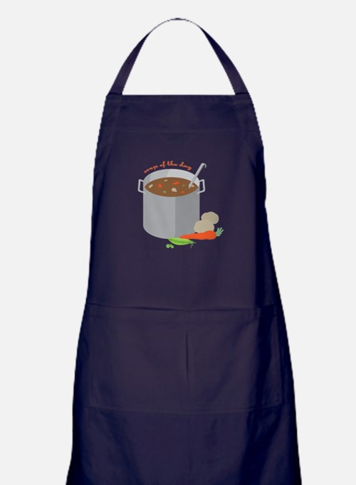 Soup Of Day Apron (dark)