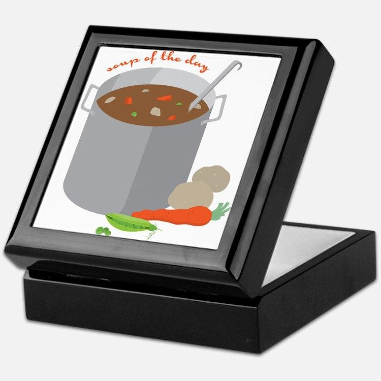 Soup Of Day Keepsake Box